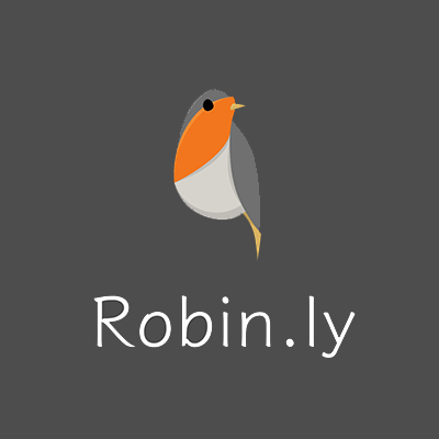 Robin.ly square Logo